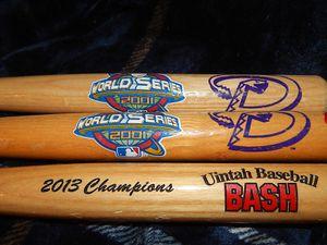 3 Mini championship Baseball Bats for Sale in Las Vegas, NV