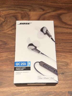 Bose QC20i Noise Cancelling Headphones for Apple Devices for Sale in Austin, TX