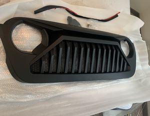 New Jeep Wrangler grill fits 2019 2020 for Sale in Houston, TX