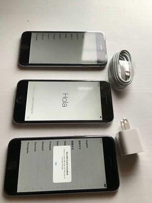 Factory unlocked apple iphone 6, store warranty 64 gb for Sale in Somerville, MA