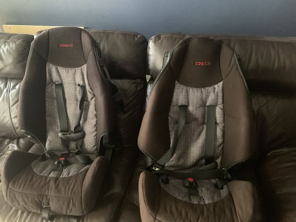 Two Booster seats in good condition
