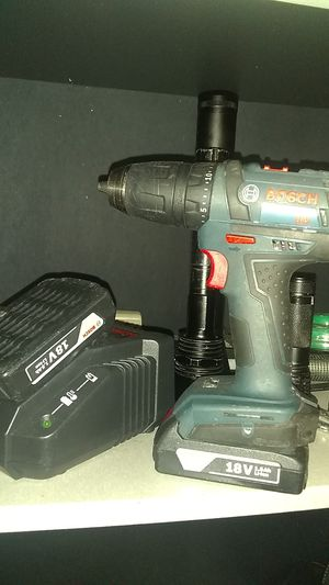 Bosch Drill with battery and charger for Sale in Springfield, MO