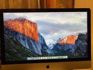 Retina 5K 27inch iMac (Late 2015) for Sale in Cookstown, NJ