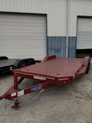 STEEL DECK CAR HAULER for Sale in Fort Worth, TX