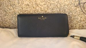Kate Spade large black wallet. Like no for Sale in Los Angeles, CA