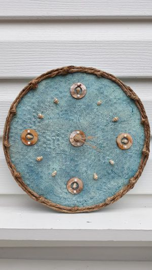EyeKandy Creations Shell Circles Clock for Sale in Louisville, KY