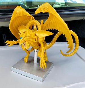 Yugioh winged dragon of RA model, no box for Sale in Grafton, OH