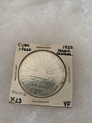 Cuba 1953 Silver Peso for Sale in Braintree, MA