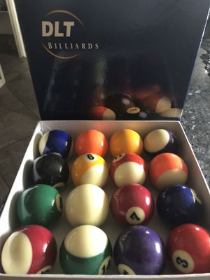 Billiards Ball set for Sale in Phoenix, AZ