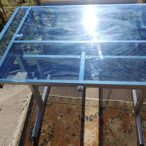 Draft Glass Top Table for Sale in Virginia Beach, VA