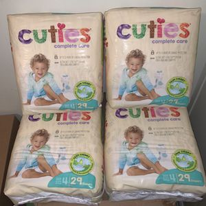 Diapers size 4 all for $18 for Sale in Spring Valley, CA