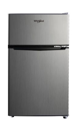Whirlpool 3.1cu. ft. Mini Fridge Refrigerator Stainless Steel for Sale in Des Plaines,  IL