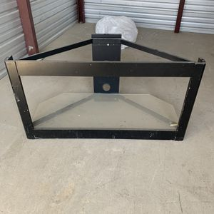Glass Tv Stand for Sale in Porterville, CA
