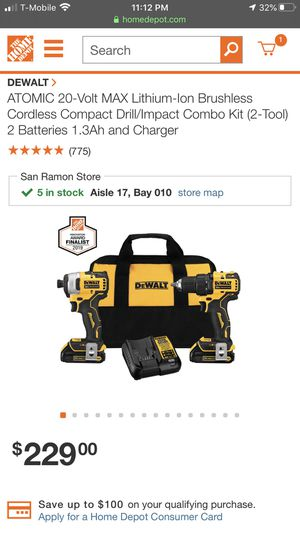 DeWALt Brushless Drills for Sale in Berkeley, CA