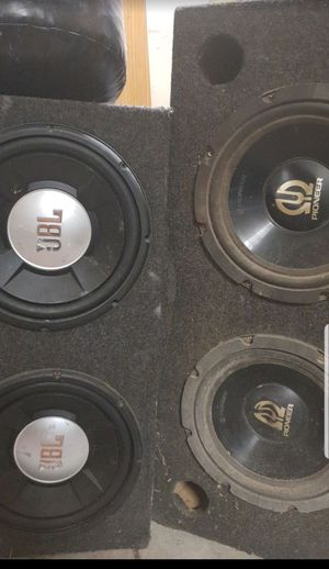 JBL PIONEER EXTREME woofer sub n box for Sale in Apex, NC