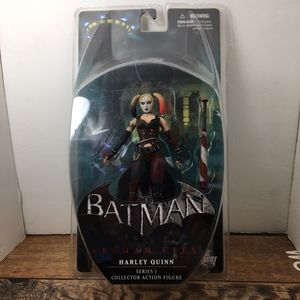 Harley Quinn Batman Arkham City Series 1 Action Figure for Sale in Navasota, TX