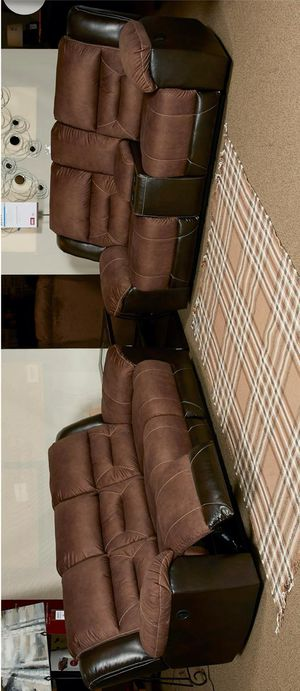 Ashley (sofa and Loveseat reclining free Delivery. for Sale in Austin, TX