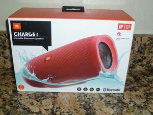JBL charge 3 new in box for Sale in Selma, CA