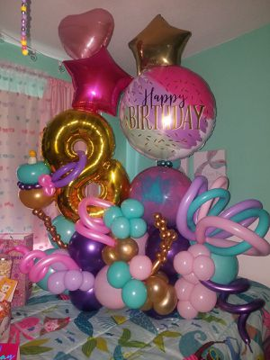 Balloons / Arreglos con globos for Sale in Tampa, FL