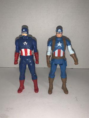 "Captain America 4"" figures for Sale in Houston, TX"