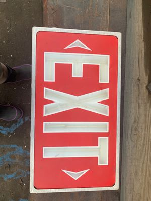 Exit sign for Sale in Chino, CA