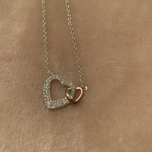 Double heart necklace for Sale in Mechanicsville, VA