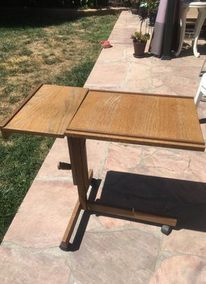 Free desk with rollers and tilt desktop for Sale in Sunnyvale, CA