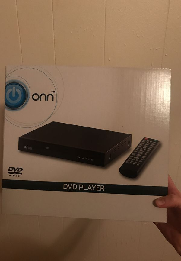 DVD player never opened