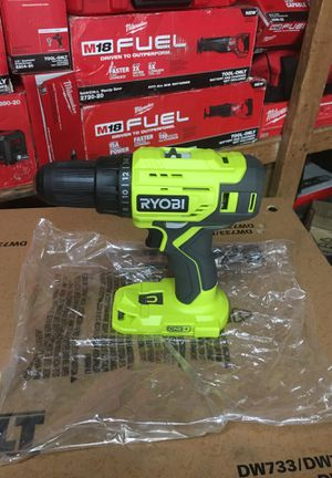 1/2 drill driver ryobi 18 volt (only tool) for Sale in Fontana, CA