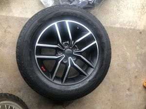18 inch 265/6018 Jeep Grand Cherokee wheels with tires for Sale in Anaheim, CA