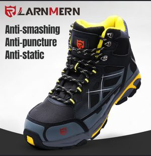 Safety boots, rigid toe, antistatic. LARNMERN size 9 New. Only for pickup for Sale in Houston, TX