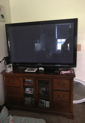 "Panasonic tv 54"" for Sale in Framingham, MA"