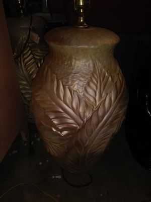 Bean pot lamps x 2 for Sale in NORTH PRINCE GEORGE, VA