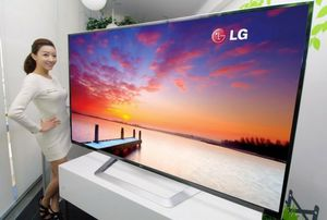 """New 55"""" 4K Smart TV from LG 