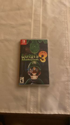 Luigi's Mansion 3 for Sale in Adelphi, MD