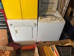 Used washer and dryer for Sale in Wichita, KS