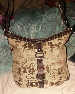 coach shoulder purse for Sale in Colton, CA