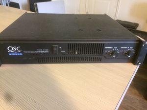 Qsc Amplifier 1450 RMX for Sale in Salt Lake City, UT