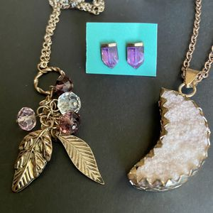 Purple Moonstone Jewelry Set for Sale in Beaumont, TX