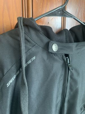 Speed And Strength Fast Forward Motorcycle Jacket Black/Large for Sale in Wenham, MA