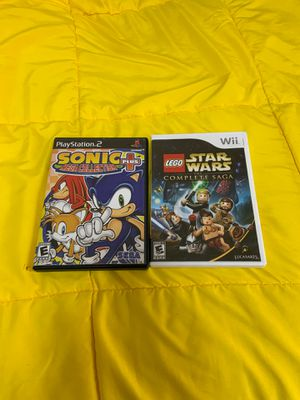 Ps2 and wii game ($20 each) for Sale in Odessa, TX