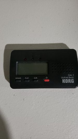 Korg guitar tuner for Sale in St. Louis, MO