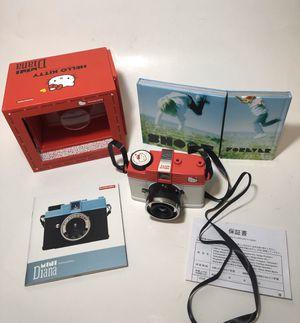 Hello Kitty Mini Diana Camera Lomography 35mm film half or full frame for Sale in Artesia, CA