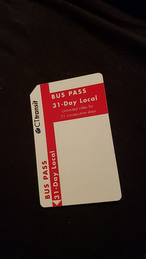 31 bus pass for Sale in West Haven, CT