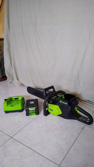 Chainsaw 80 volt for Sale in Venice, FL