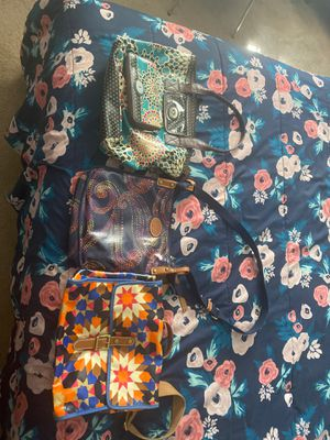 Two shoulder bags & One tote back with a wallet for Sale in Fairfield, CA