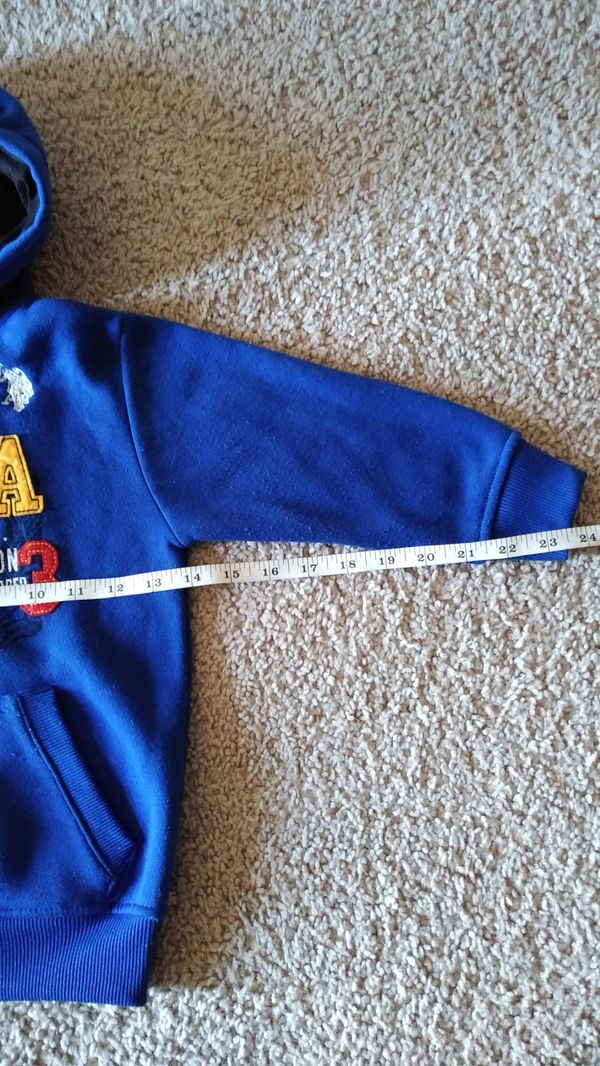 Beautiful U.S. Polo Jacket , toddler size 4 ( excellent condition )