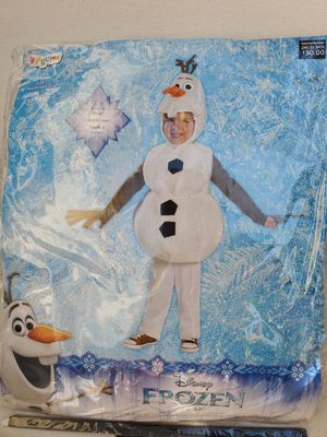 Little boys Halloween costumes. Kermit the Frog and Olaf from Frozen for Sale in Suwanee, GA