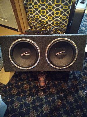 Audiobahn 12 inch 800 watt subs in box for Sale in Columbia, MO