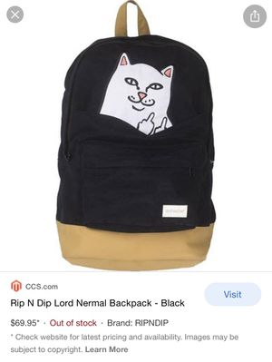 Brand new RIPNDIP backpack for Sale in Tempe, AZ